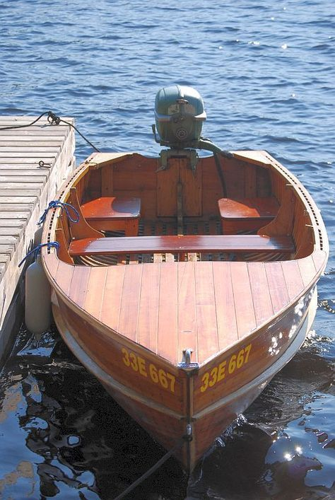 1956 #zephyr #peterborough Classic Antique Wooden Boat