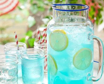 For a sweet July 4th treat, add JOLLY RANCHER candies to your lemonade to create refreshing new flavors.