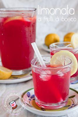 Bolli bolli pentolino: limonata ai frutti di bosco, per un pieno di vitamine e sali minerali