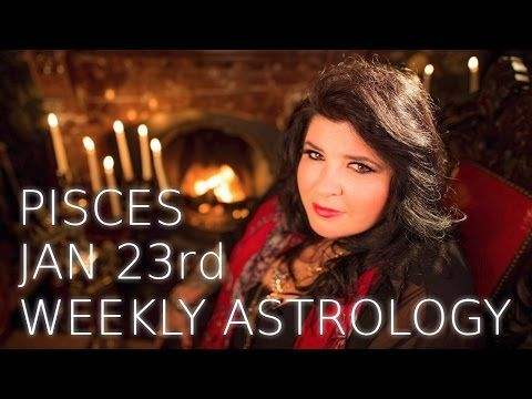 Your Horoscope: Pisces Weekly Astrology Forecast 23rd January 2017...