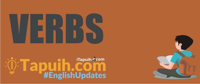 Penjelasan Tentang Verb (Kata Kerja) Beserta Contoh Terlengkap - Paja Tapuih