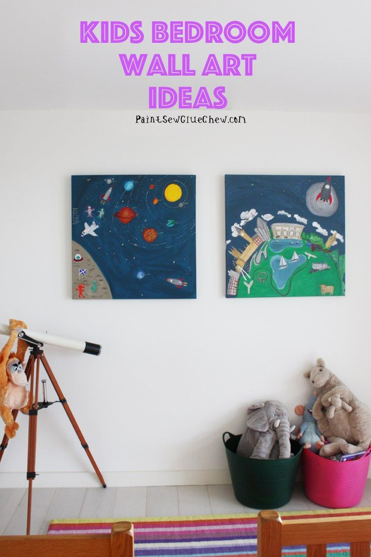 Kids Wall Art Ideas