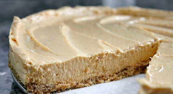 Skinny No-Bake Pumpkin Cheesecake, weight watchers recipes , smart points 7