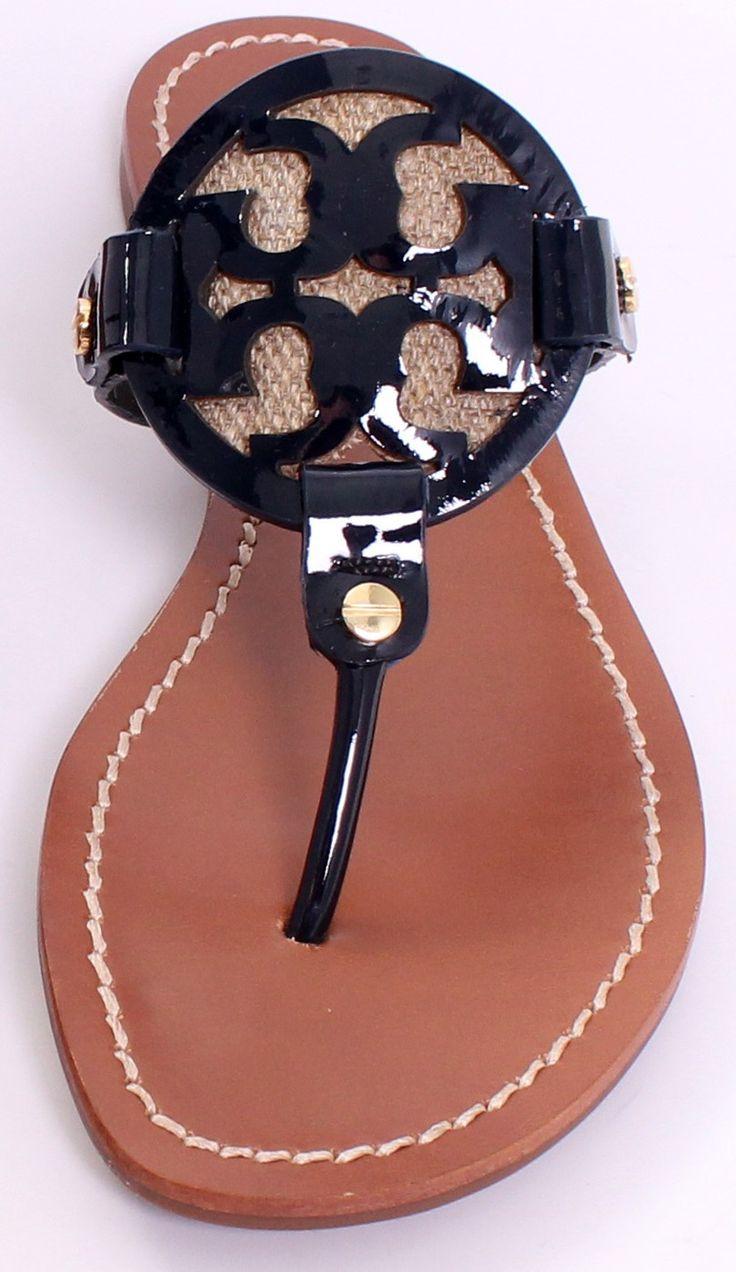 Tory Burch Logo Sandal ♥✤ | Keep the Glamour | BeStayBeautiful