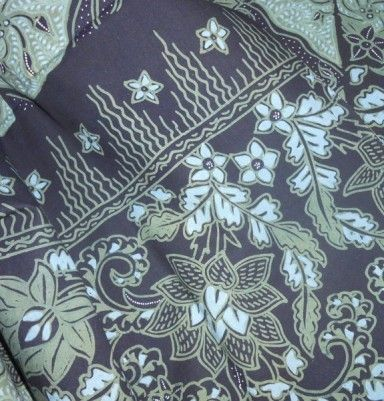 Natural Color Primissima Cotton Batik – Flower Motif