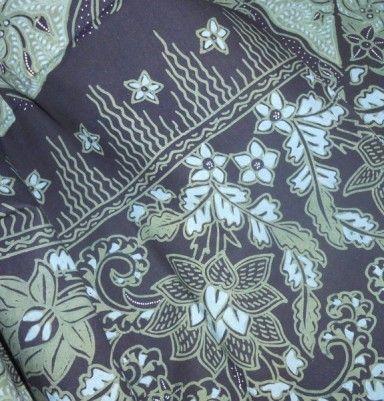 Natural Color Primissima Cotton Batik – Flower Motif