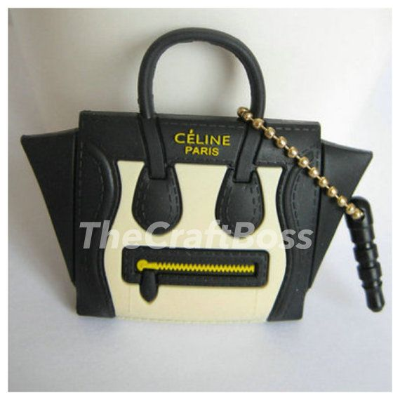 Celine Bag - Mini Luggage Purse Keychain Charm Accessory | Celine ...