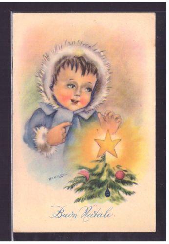 Cartolina-Buon-Natale-Illustratore-Barnini-YA195