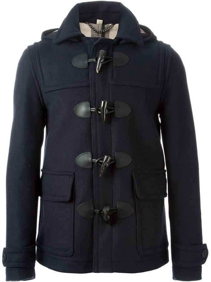 Mens Designer Duffle Coats