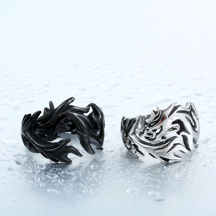 Stainless Steel Dragon Ring //Price: $12.99 & FREE Shipping //     #skull #skullinspiration #skullobsession #skulls