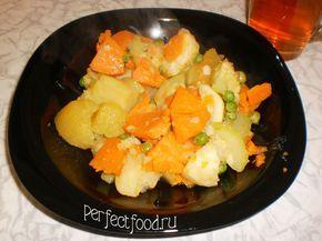 Рецепт овощного рагу с репой