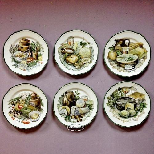 """Коллекция тарелок на кухню """"Сырные тарелки"""""""