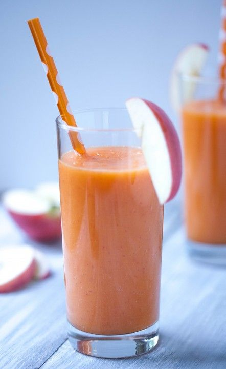 Ginger smoothie, Pink lady apples and Carrot and ginger on Pinterest