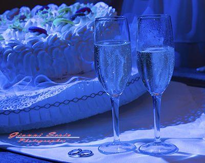 servizio fotografico di matrimonio brindisi di nozze al ristorante