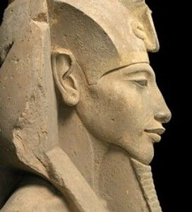 """Akhenaten """"Views of Akhenaten have oscillated between both extremes,"""" says the Egyptologist Anna Stevens. """"The ancient Egyptians excised his reign from their own history. But modern history has been kinder to him: we perhaps value individualism more – and of course we are not directly affected by his actions."""" http://www.telegraph.co.uk/culture/art/10561090/Akhenaten-mad-bad-or-brilliant.html"""