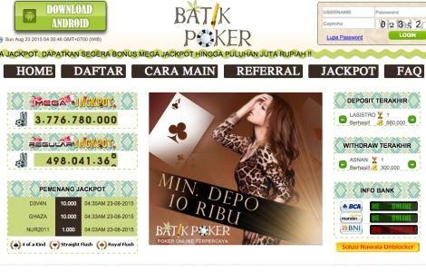 Batikpoker