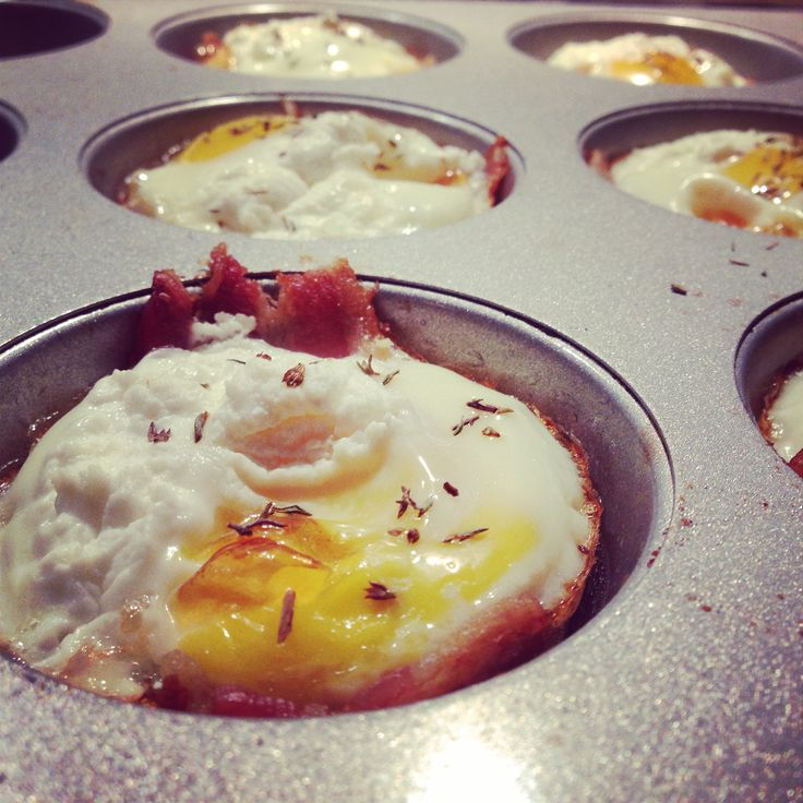 Bacon and Egg Cupcakes by Sarah Wilson