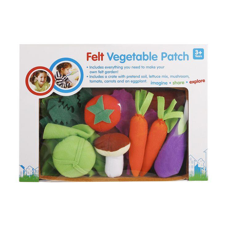 Felt Vegetable Patch | Kmart