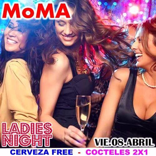 Bueno chicas...empezemos otro fds #ATodoMoma ...LADIES NIGHT en MoMA Bar esta noche...CERVEZA FREE...y Cócteles 2x1...Reserva tu mesa sin costo. (Free hasta 11:30 pm)