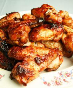 #Kippenvleugels net als van de #barbecue | Renata Kookt , #kip #gevogelte #recept op renatakookt.nl