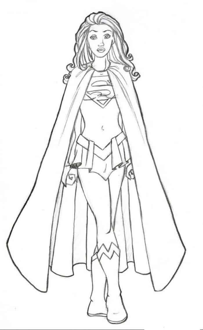 Super Hero Coloring Pages In 2020 Superhero Coloring Pages