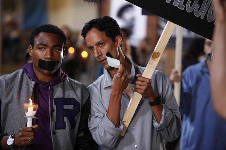 Troy and Abed on Community