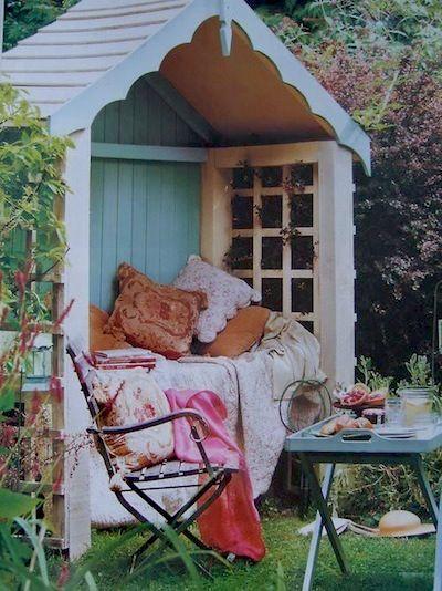 Constriure un abri de jardin pour son plaisir.