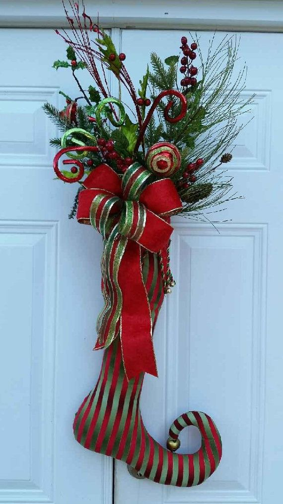 Christmas Stocking Door Hanger Stocking By