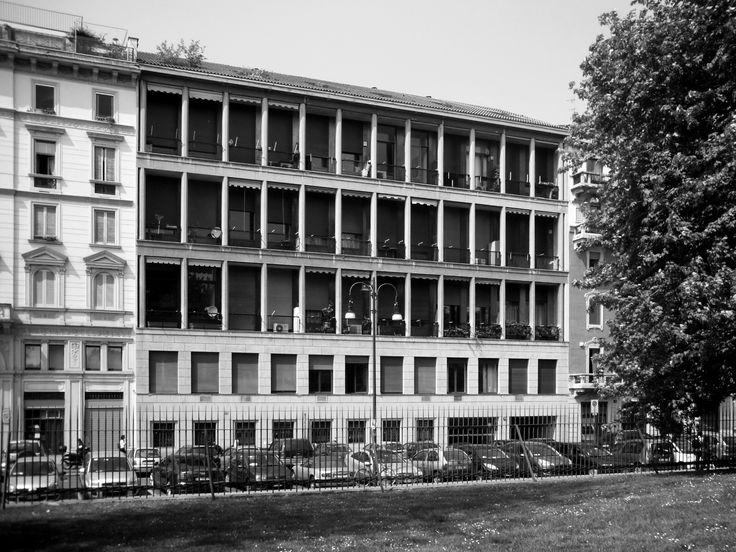 Casa Albergo in via Bertani 10 (1965-1970) di Giulio Minoletti