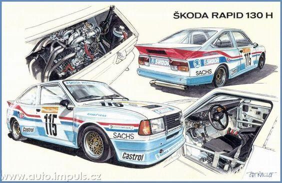 Skoda Rapid Race: