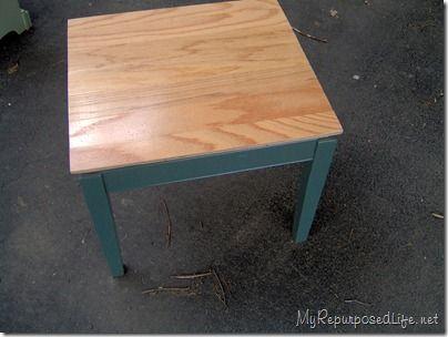 Hardwood Floor Table Top Diy Furniture Decor Flooring