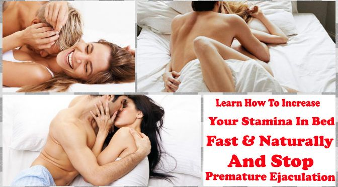 How To Increase Stamina In Bed For Men Naturally