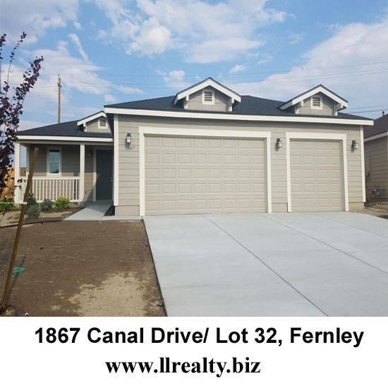 1867 Canal Drive/ Lot 32, Fernley MLS Number: 170013445 Size: 1721 Lot Size: 0.17 Bedrooms: 3 For more Information: http://www.llrealty.biz/listing/1867-canal-drive-lot-32-fernley/ #HomeForSale #Home #Houses #RealEstate #PropertyForSale #ApartmentForSale #PropertyinFernley