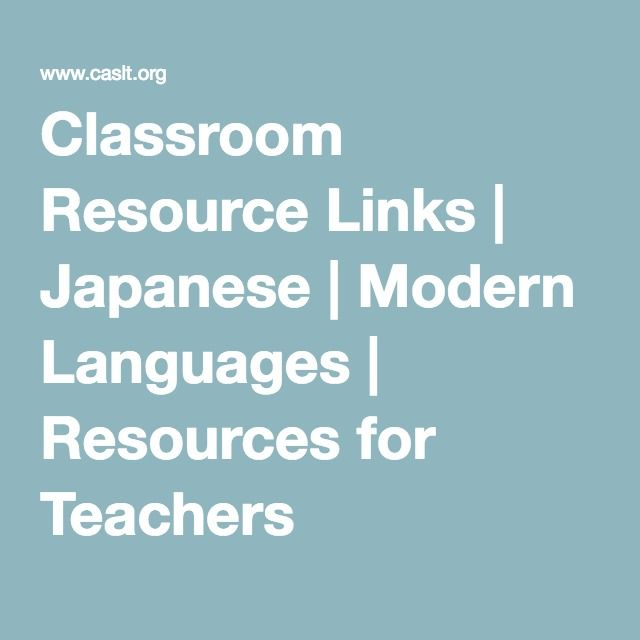 Modern Language Classroom ~ Images about japanese web resources on pinterest