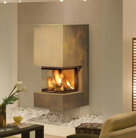 76 best Kamin images on Pinterest Fire places, Fireplaces and - wohnzimmer kamin ethanol