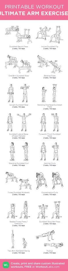 how to get stronger arms with weights