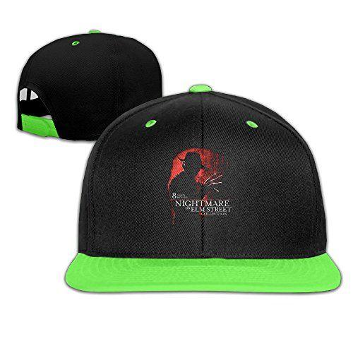Teenage A Nightmare On Elm Street Film Classic Slasher Print Youth Cool Baseball Hats Caps @ niftywarehouse.com #NiftyWarehouse #NightmareOnElmStreet #Halloween #Freddy #FreddyKrueger #Horror #HorrorMovies