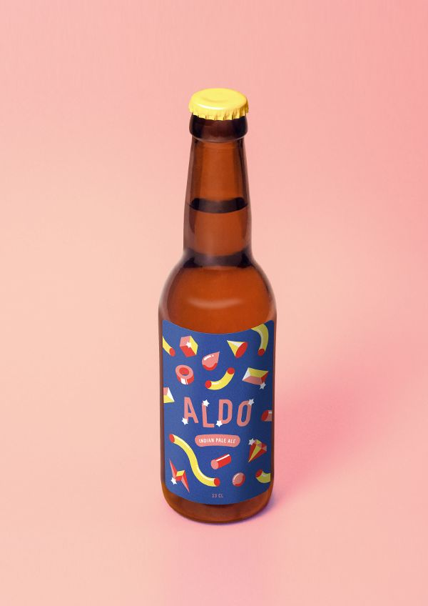 Playful and iconic, however very confusing (the label and style are not corollary to the function of the product, IMO)