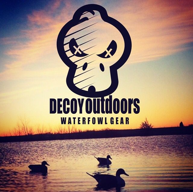 Decoy Outdoors Waterfowl Hunting Gear Killer Skull Logo - Duck Hunting and Goose Hunting