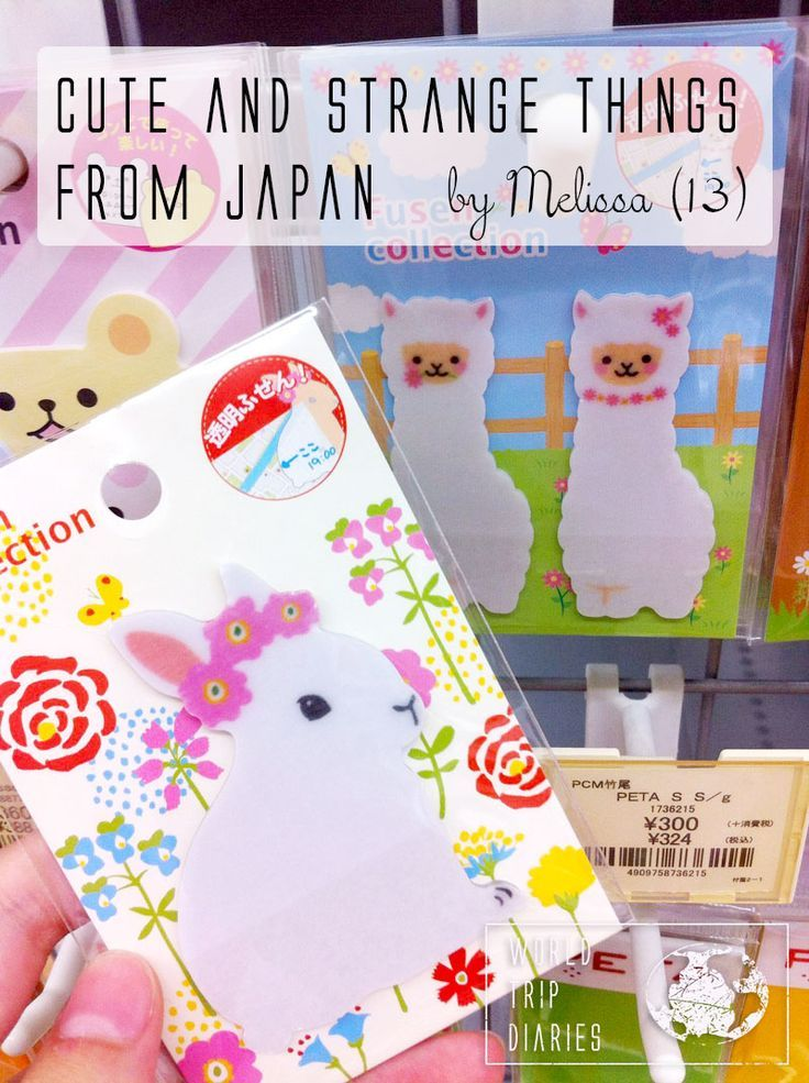 Melissa (13) talks about the cutest and strangest things she found on her trip do Japan - World Trip Diaries