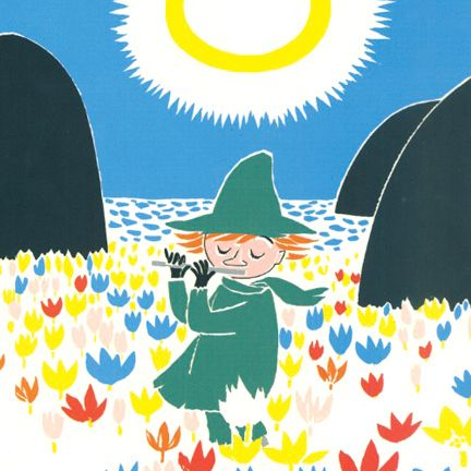 Almost anything can be fixed with a song. | 50 Lessons That Moomins Can Teach You About Life