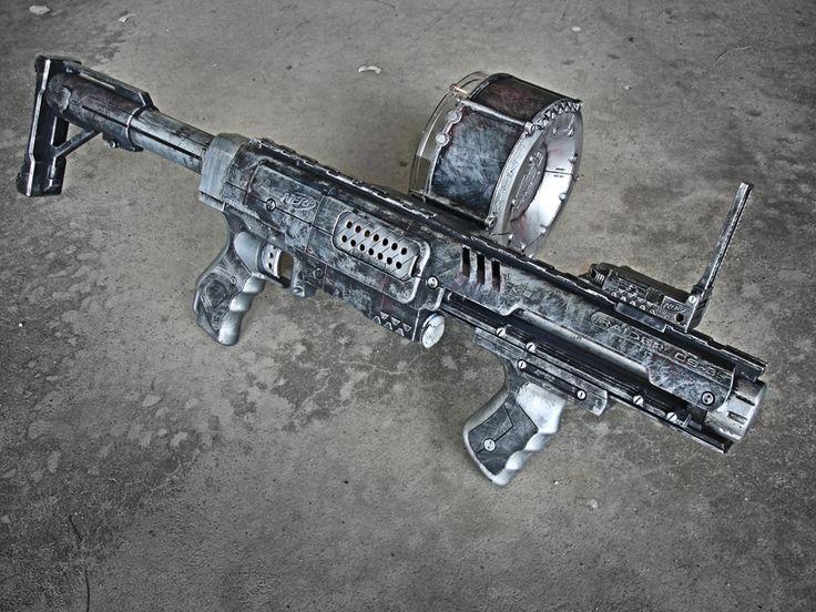 Nerf Raider Zombie Gun by meandmunch.deviantart.com on @deviantART