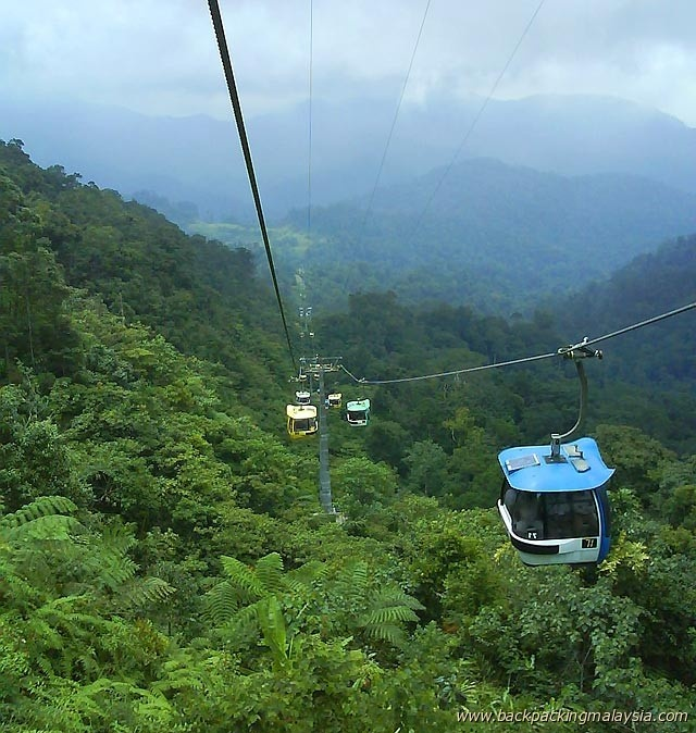 D-2 Genting Highland, Kuala Lumpur Genting Highlands is a resort city located on a mountain peak of the Titiwangsa Mountain Range at about 1,800 m elevation, about 55km north-east of Kuala Lumpur.