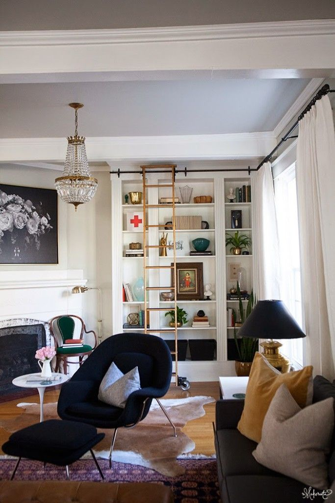 Laura's Living Room: Ikea Billy Bookshelves Hack - The Makerista