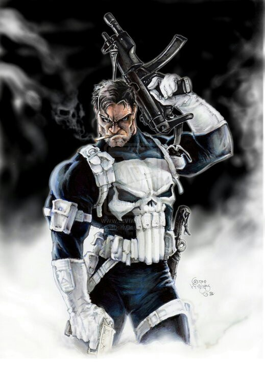 Punisher by Greg Williams                                                                                                                                                      More