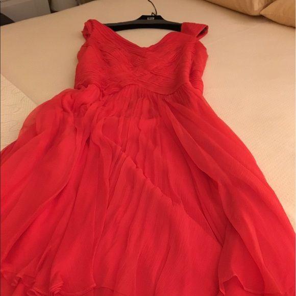 Tadashi Shoji Dresses & Skirts - Gorgeous coral cocktail dress.  16W