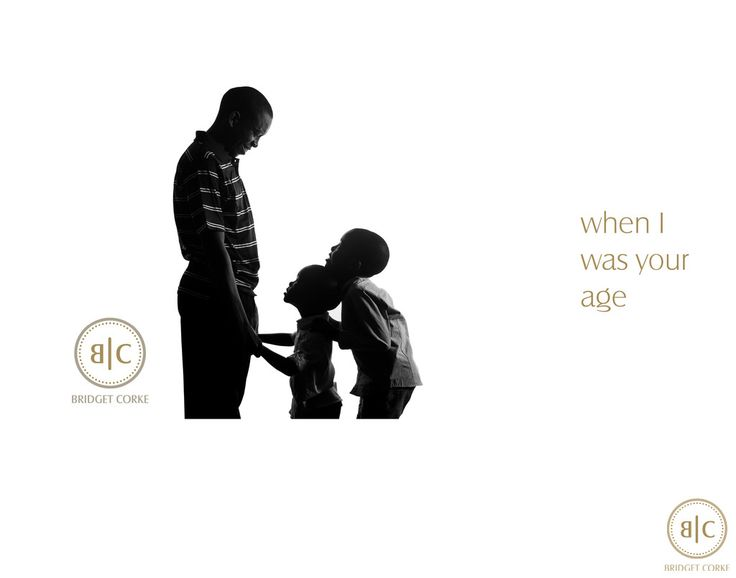 Bridget Corke Photography - Father's Day - When I Was Your Age: