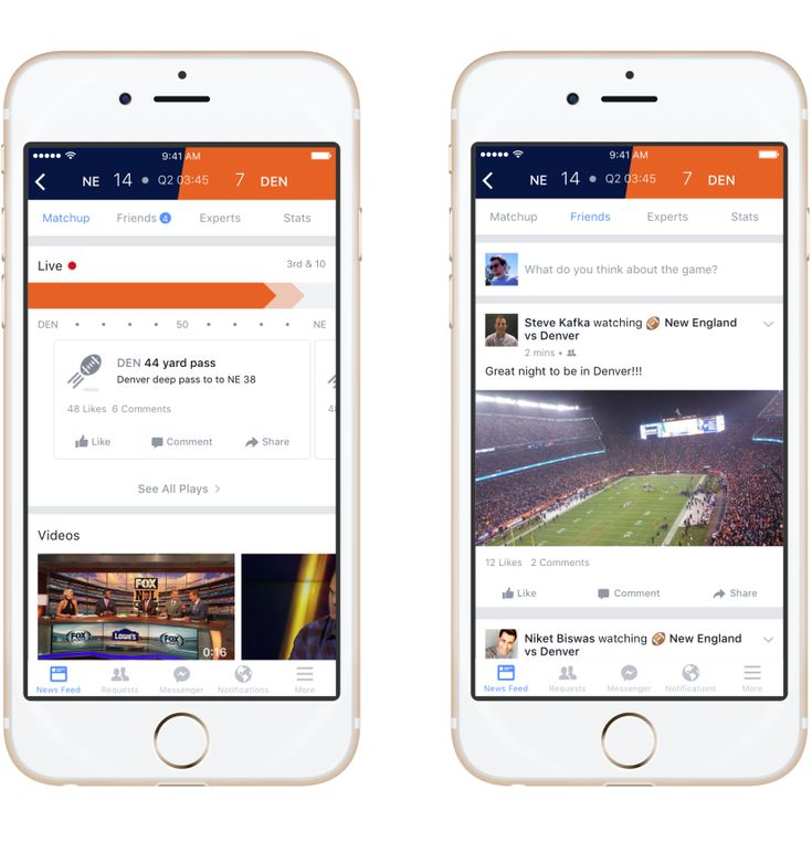 Introducing #Facebook #Sports #Stadium, just in time for the Super Bowl