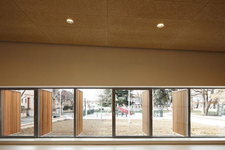 Salle polyvalente « Le Préau Couvert » - Rendez-vous Agence d'architecture