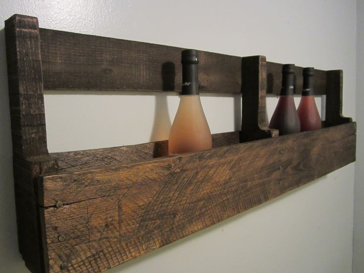 Best 25+ Pallet wine holders ideas on Pinterest | Wooden ...